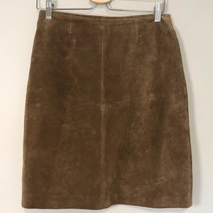 Hunt Club Leather Skirt Size 8